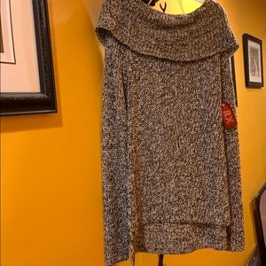 Other - NEW! Black and grey sweater! SUPER SOFT!